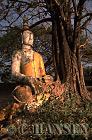 Buddha Statue, Wat Phu, Champassak, Ancient Angkor, Laos
