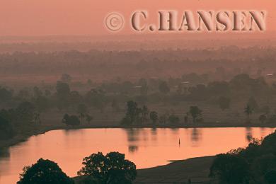Champassak valley, Laos
