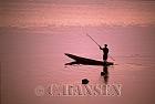 Fishing Boat, Makong River, Vientiane, Laos