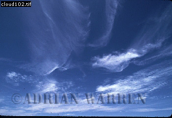 Clouds (Cirrus), West Australia