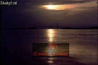 ANGOSTURA BRIDGE over ORINOCO, CD. Bolivar, Venezuela, 1974