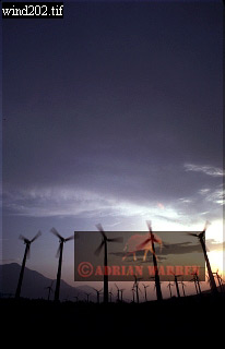 WIND TURBINES, Palm Springs, USA