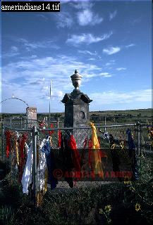 WOUNDED KNEE, Sioux Indian Res., Pine Ridge, South Dakota, USA