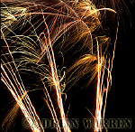 Fireworks display : Gold rain Candles