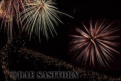 Fireworks display