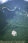 Aerials (aerial photo) of South America: Oil installation in Waorani territory, Ecuador, 2002
