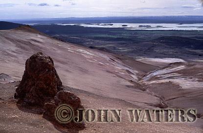 Geothermal field, Namaskard, near Lake Myvatn, Iceland