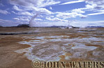 Geothermal field, Namaskard, near Lake Myvatn, Iceland