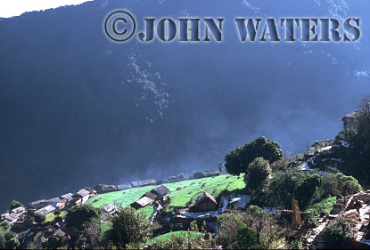 Village of Ghandrung, Nepal, Asia