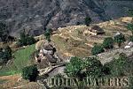 Hill farms, near Landrung, Nepal, Asia