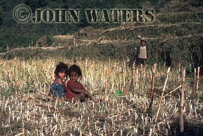 Nepal, Asiai children, Landrung, Nepal, Asia