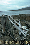 Ruins of old trappers hut, Svalbard, Norway, Scandanavia, Arctic