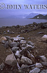 Grave of Dutch Whaler (prob, 18th Century), Svalbard, Norway, Scandanavia, Arctic