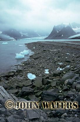 Magdalene Fjord in Summer, Svalbard, Norway, Scandanavia, Arctic