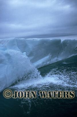 Edge of Ice Cap, Nordaustlandet, Svalbard, Norway, Scandanavia, Arctic