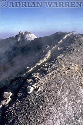MOUNT LENGAI, African Rift Valley/ Tanzania/ Lake Natron