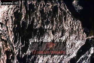 LAVA in LAVA TUBE, Mount Suswa, Rift Valley, Kenya