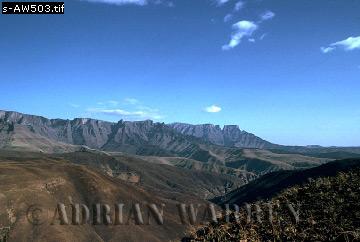 DRAKENSBURG MTS., South Africa