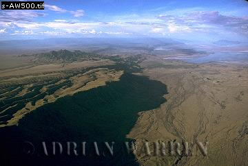 RIFT VALLEY, AFRICA, at Mount Lengai/ Lake Natron/ Tanzania
