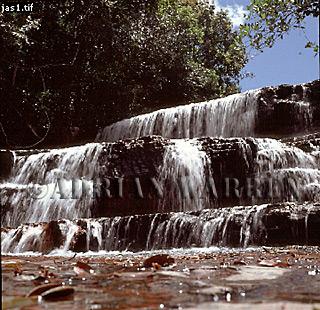 JASPER ROCK Waterfall, Gran Sabana, Venezuela