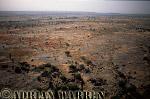 Aerials (aerial image) of Africa : Plateau area near BANDIAGARA,Mali