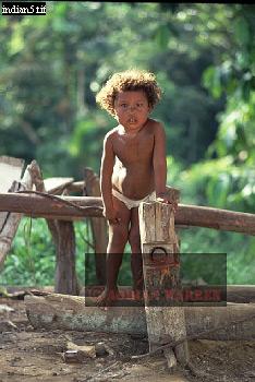 MESTIZO Girl (Rubber Tapper Family), Rio Jurua, Brazil, 1978