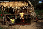 CARAUARI Tribe: AMERINDIANS, Rio Jurua, Brazil, 1978
