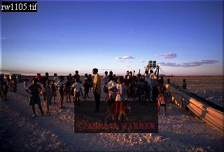 NAMIBIAN CHILDREN, Etosha National Park, Namibia