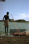 EL MOLO FISHERMAN, Lake Turkana, Northern Kenya