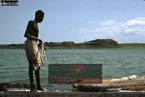 EL MOLO FISHERMAN, Lake Turkana, Northern Kenya