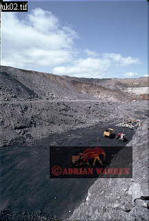 OPEN-CAST COALMINE, Northern England