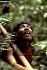 WAORANI INDIANS Hunting, Cononaco Area, Ecuador, 1983