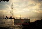 OIL RIG, Lake Maracaibo, Venezuela