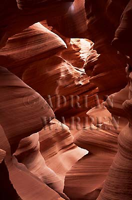 SANDSTONE Formation, Slot Canyon, Arizona, USA