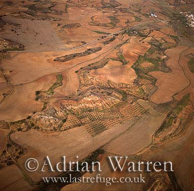 Aerials (aerial image): Landscapes of Central Spain, Europe