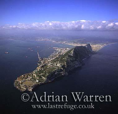Aerials (aerial image): Gibraltar, Spain, Europe