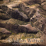 Aerials (aerial image): Southern Foothills of Sierra Nevada, Spain, Europe