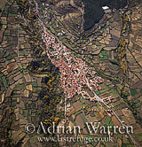 Aerials (aerial image): Northern side of Sierra Nevada, Spain, Europe