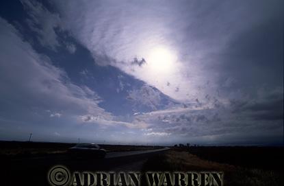 Altostratus clouds, Texas, USA