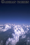 Cumulus clouds over Illinois, USA