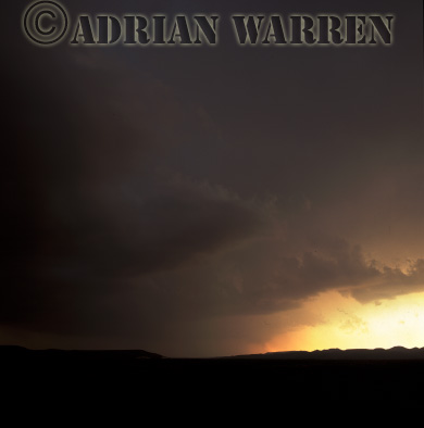 Late afternoon storm, Texas, USA