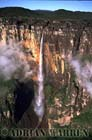 Aerials (aerial photo) of Tepuis, South America: Angel Falls, Auyantepui, Venezuela