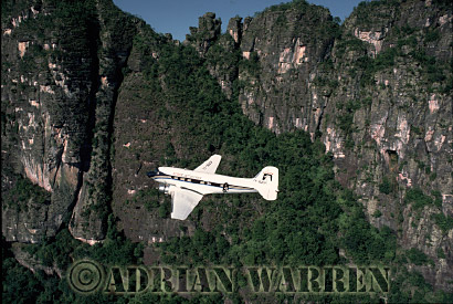Aerials (aerial photo) of Tepuis, South America: DC3/ CERRO AUTANA/ AMAZONAS, Venezuela