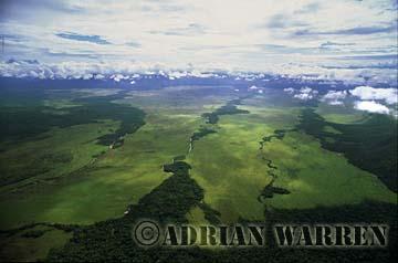 Aerials (aerial photo) of Tepuis, South America: Gran Sabana, Venezuela