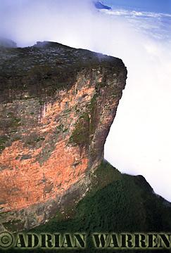 Aerials (aerial photo) of Tepuis, South America: Mount Roraima, Venezuela