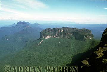 Weiassipu from summit of Roraima, Venezuela