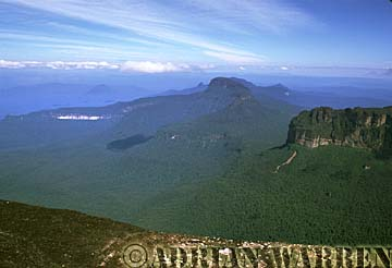 Weiassipu from summit of Roraima, Venezuela