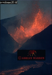 Volcano Eruption: Kimanura, May 1989, Nyamlagira, Zaire (Democratic Republic of the Congo)