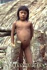 Waorani Indians : a Girl, rio Cononaco, Ecuador, 1983