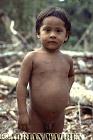 Waorani Indian boy : rio Cononaco, Ecuador, 1983